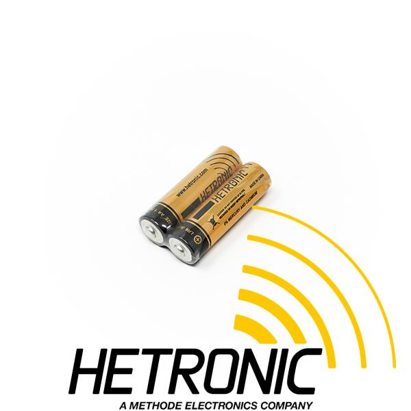 Battery 1.5V AA Alkaline HETRONIC <br/>Pack Quantity: 2pcs