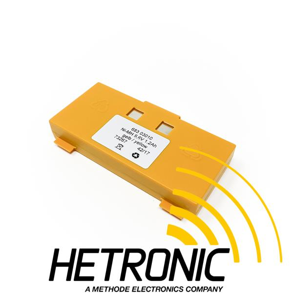 Battery GL/TG/GR 9.6V Yellow<br/>1.2Ah - NiMH
