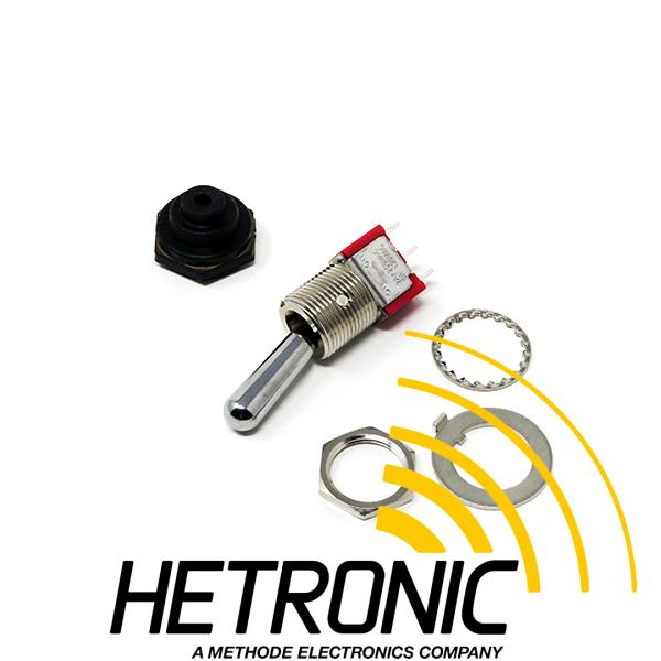 Toggle Switch Hetronic 0-R<br/>Toggle Switch Boot Included