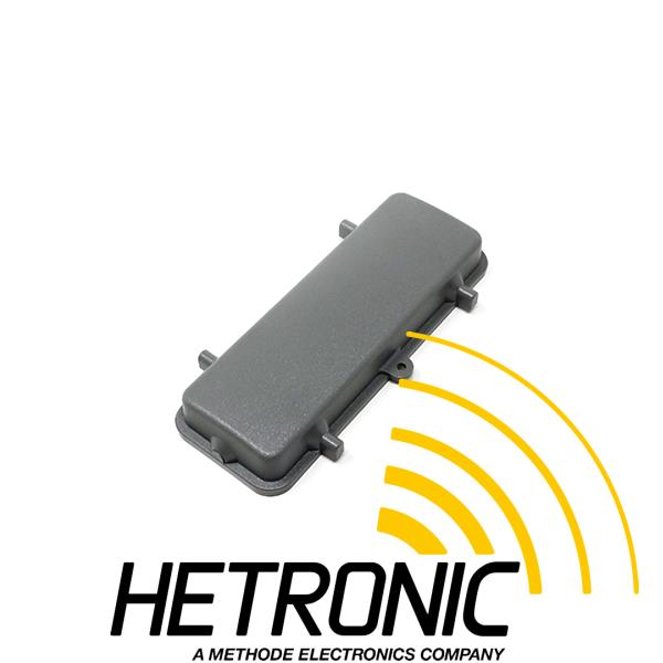 Cover Harting - Grey Plastic<br/>Use: Bulkhead Mount 24/64pol. with 2 x Clamps<br/>Without Nylon Cord
