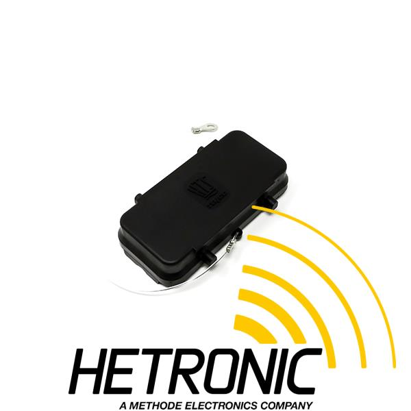 Cover HTS - Black Plastic<br/>Use: Bulkhead Mount 32pol. with 2 x Clamps<br/>With Nylon Cord