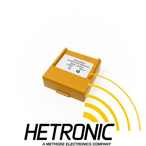 HETRONIC Battery NOVA/ERGO 9.6V Yellow<br/>600mAh - NiMH<br/>