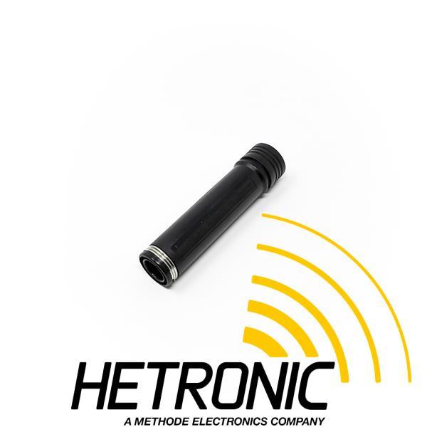 HETRONIC Battery Case<br/>2xAA Battery Black<br/><br/>