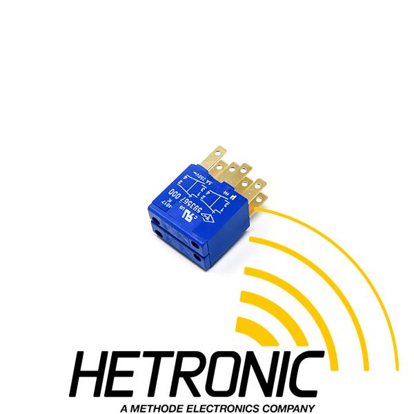 Contact Element 2-Step 2xNO & 2xNC Blue<br/>Use: Key Switch