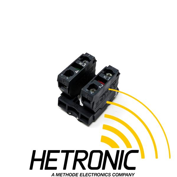 Circuit Element NC/NO Contact <br/>Snap Mounting<br/>Use: Radio/Hand Change Over & Stop Switch Red ø40mm<br/>
