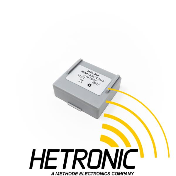 HETRONIC Battery MINI 3.6V/2.75Ah Grey